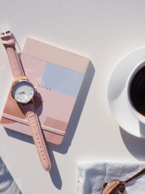 minimalistisch horloge