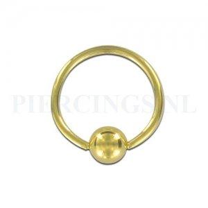 BCR 1.0 mm goudkleurig