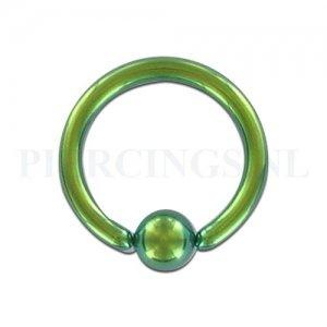 BCR 1.2 mm geanodiseerd groen
