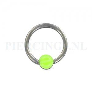 BCR 1.2 mm strandbal UV-geel