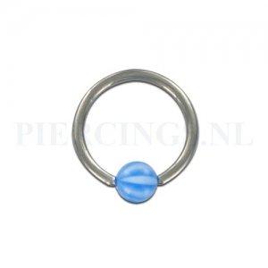 BCR 1.2 mm strandbal blauw