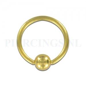 BCR 1.2 mm x 10 mm goud kleur