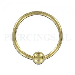 BCR 1.2 mm x 12 mm goud kleur