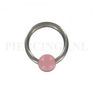 BCR 1.2 mm x 8 mm licht roze