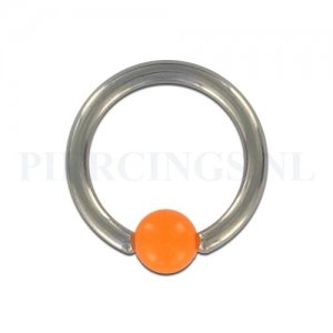 BCR 1.6 mm acryl balletje bruis oranje