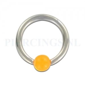 BCR 1.6 mm acryl balletje oranje