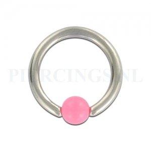 BCR 1.6 mm acryl balletje roze
