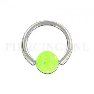 BCR 1.6 mm acryl glitter UV geel