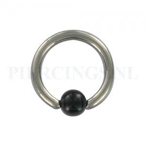 BCR 1.6 mm acryl zwart bruis