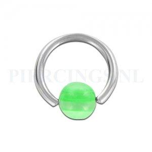 BCR 1.6 mm doorzichtig met groen streepje