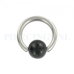 BCR 1.6 mm doorzichtig met zwart streepje