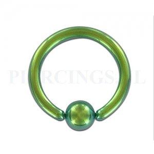 BCR 1.6 mm geanodiseerd groen