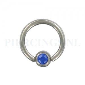 BCR 1.6 mm kristal blauw