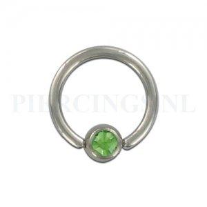 BCR 1.6 mm kristal groen