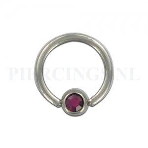 BCR 1.6 mm kristal paars
