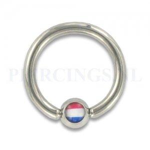 BCR 1.6 mm logo Nederlandse vlag