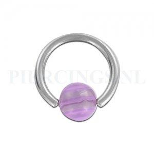 BCR 1.6 mm paars-doorzichtig