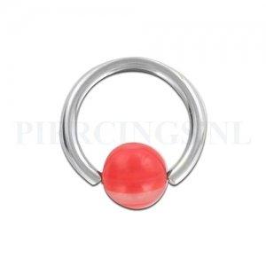 BCR 1.6 mm rood-doorzichtig