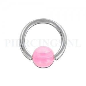 BCR 1.6 mm roze-doorzichtig