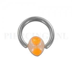 BCR 1.6 mm stekels oranje