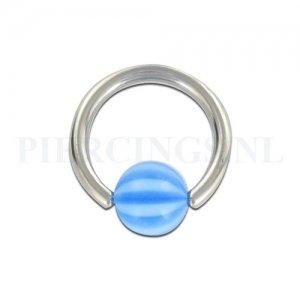 BCR 1.6 mm strandbal blauw