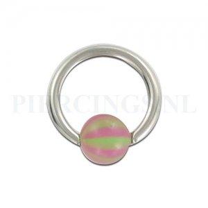 BCR 1.6 mm strandbal paars