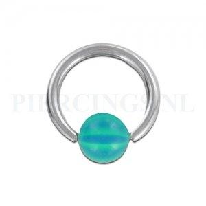 BCR 1.6 mm strandbal turquoise