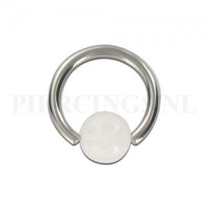 BCR 1.6 mm strandbal wit