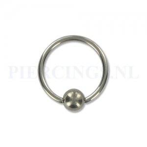 BCR 1.6 mm titanium XL