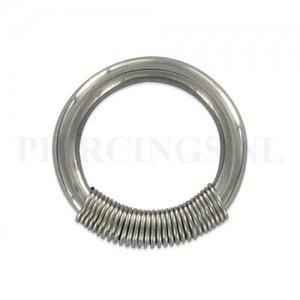 BCR 2.5 mm met spiraal