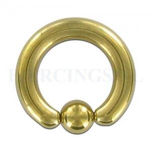 BCR 4 mm goud kleur