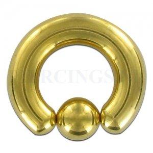 BCR 6 mm goud kleur