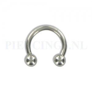 Circulair barbell 1.6 mm 8 mm
