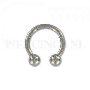 Circulair barbell 2 mm x 12 mm