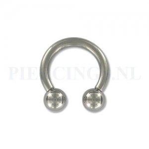 Circulair barbell 2.5 mm x 12 mm