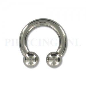 Circulair barbell 4 mm x 16 mm