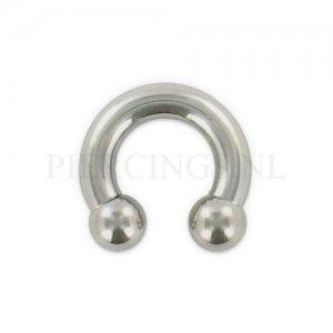 Circulair barbell 5 mm x 12 mm