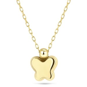 Geelgoud collier 9217