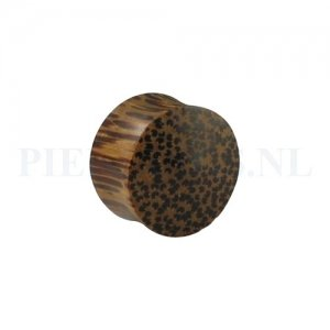 Plug palm hout 22 mm 22 mm