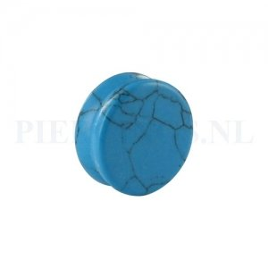 Plug turquoise 22 mm 22 mm
