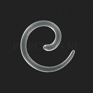 Spiraal acryl 2 mm 2 mm