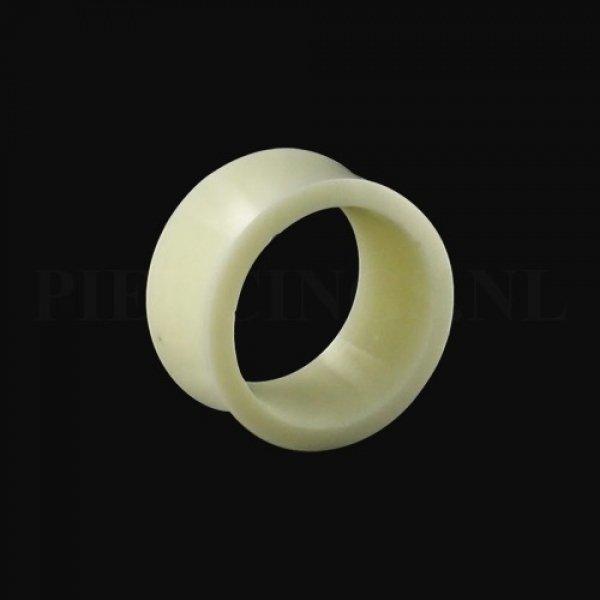 Tunnel hoorn wit 25 mm 25 mm