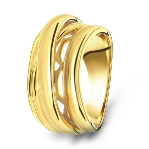 Gold plated ring 01.140.35