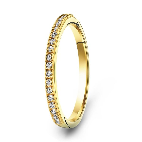 Gold plated ring 01.979Z.35